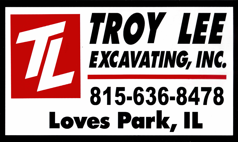 Troy Lee Excavating Logo